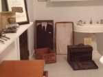 This is part of the funeral home diorama.  The embalming table is directly to the right